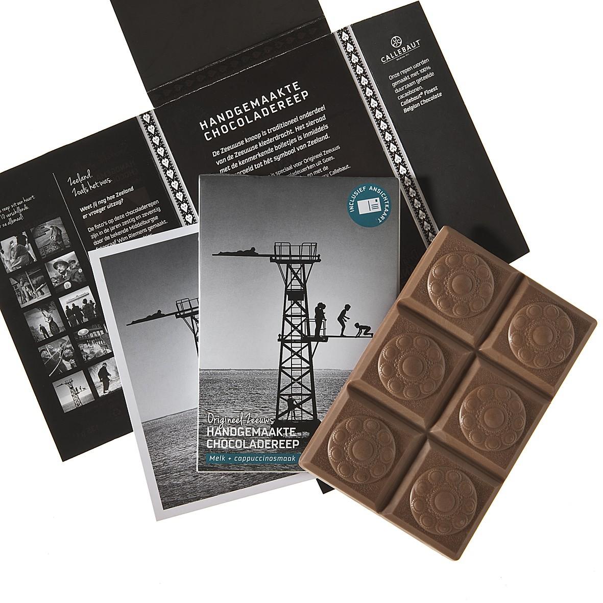 Zeeuwse Handgemaakte Chocoladereep