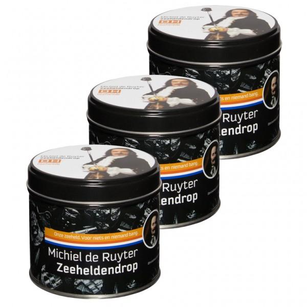 Michiel de Ruyter Zeeheldendrop in blokbodemzakje van 180 gram